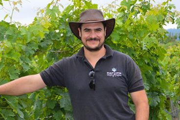 Emmanuel Galineau <br>Production Manager<br>and Winemaker