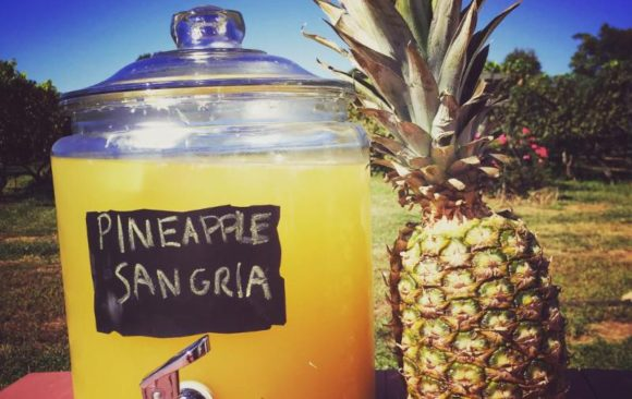 Pineapple Sangria Every Weekend in September!