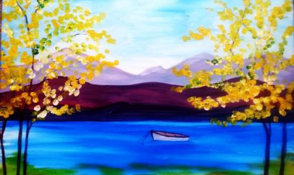 Paint and Sip Event with Creative Mankind: Saturday, September 16th