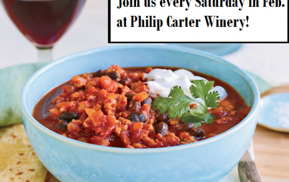 Saturdays in February: Chili Extravaganza