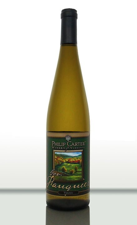 Philip Carter Winery Governor Fauquier white wine