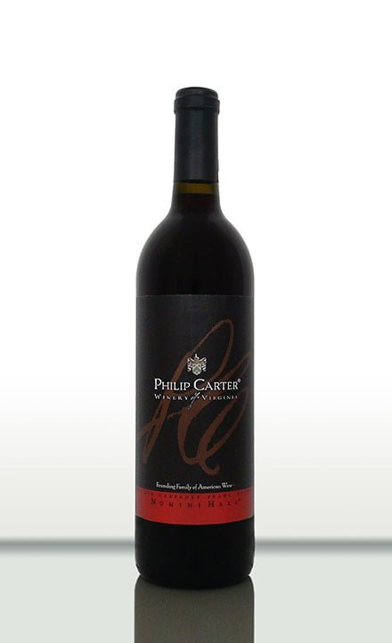 Philip Carter Winery Nomini Hall red wine
