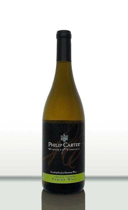 Philip Carter Winery Sabine Hall white wine
