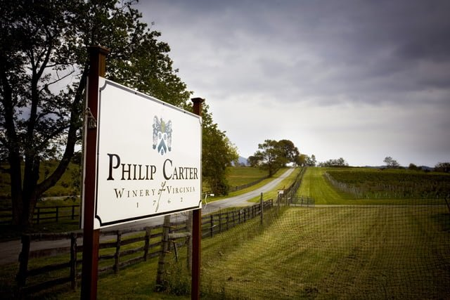 Philip Carter Winery directions