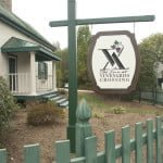 The Inn at Vineyards Crossing sign Hume Fauquier northern Virginia Bed and Breakfast