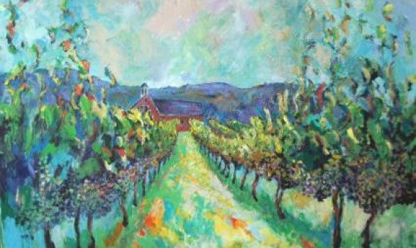 October 7th and 8th: En Plein Air Weekend: The Art of Winescapes