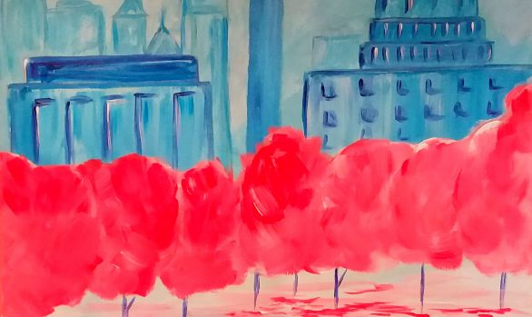 Saturday, April 21st: Paint and Sip Event with Creative Mankind