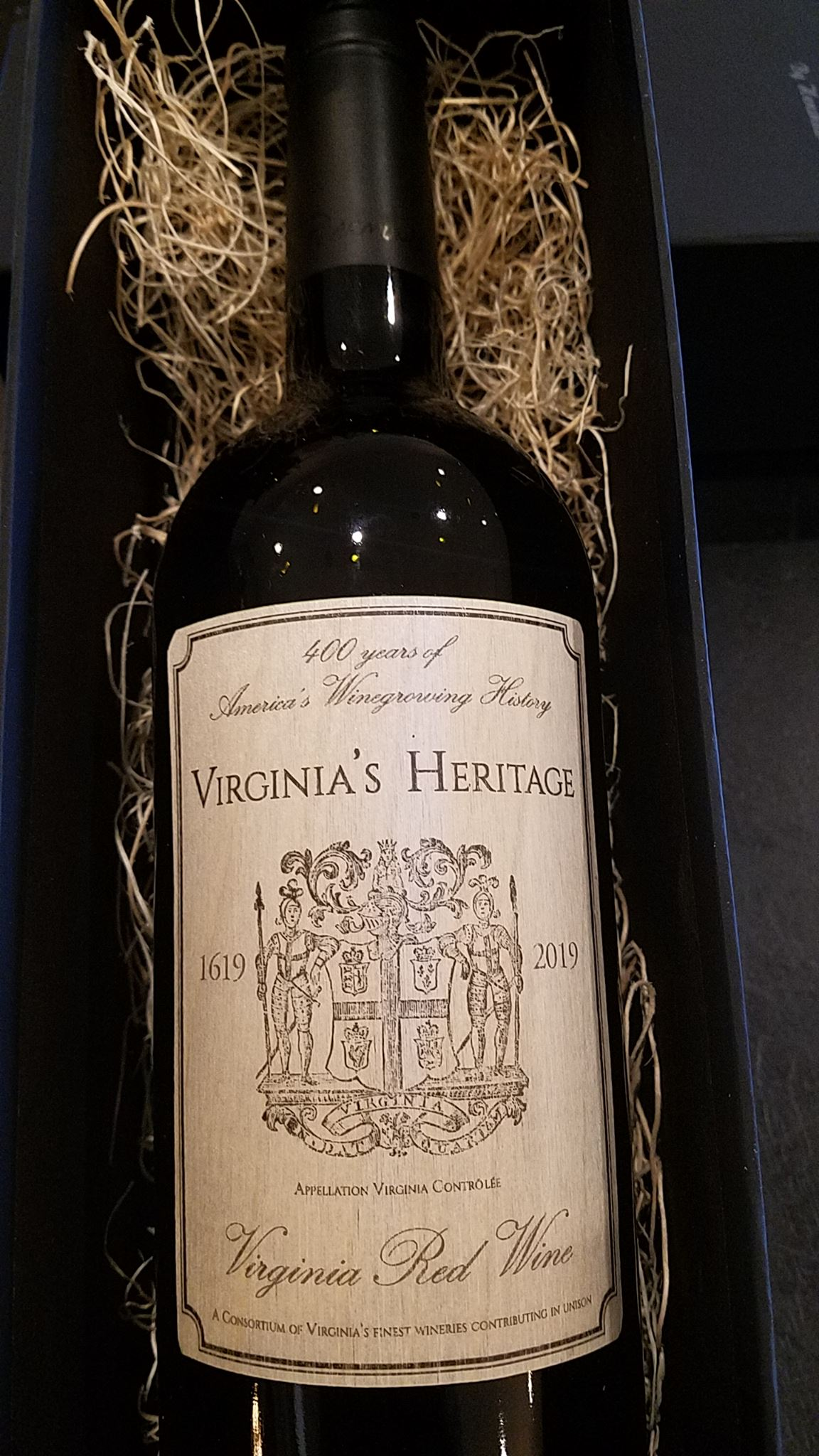 Release of Virginia's Heritage