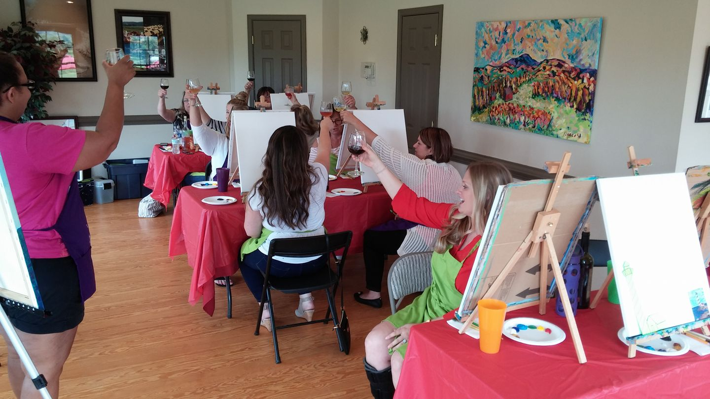 Christmas/New Year Paint and Sip Event with Creative Mankind