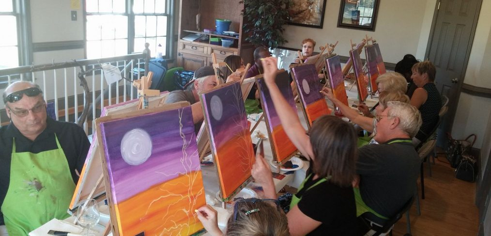 Thanksgiving Paint And Sip Event With Creative Mankind